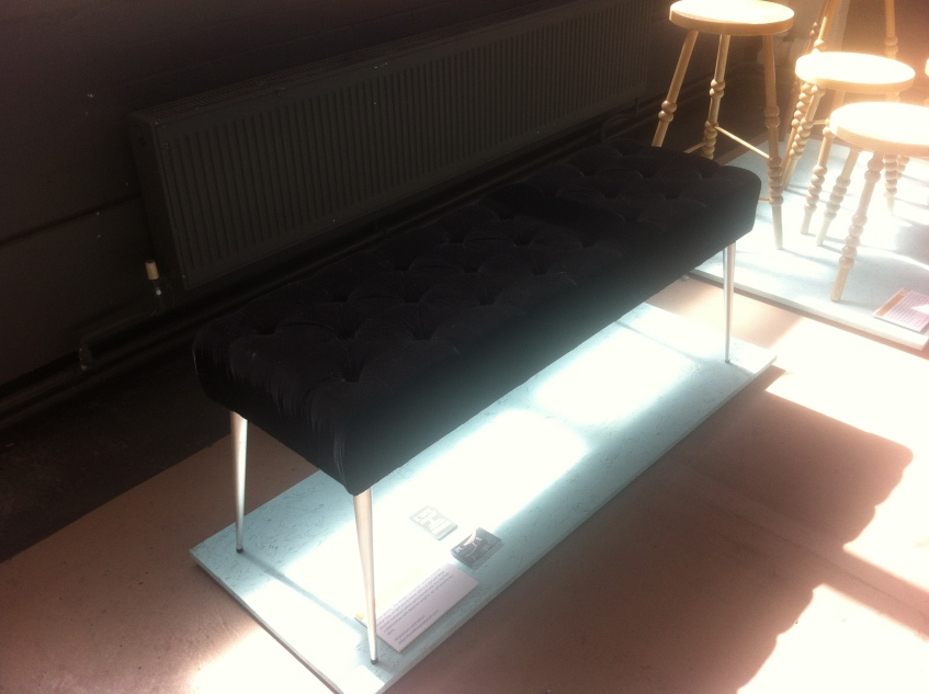 Photo: Stiletto Bench