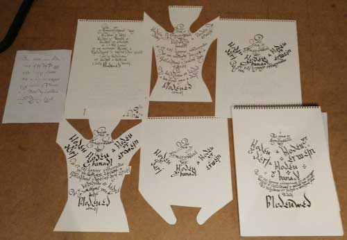 Blodeuwedd-chair-calligraphy-roughs