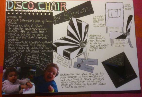 Disco-Chair-mood-board
