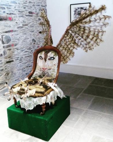 Blodeuwedd at MOMA, Machynlleth, 2018